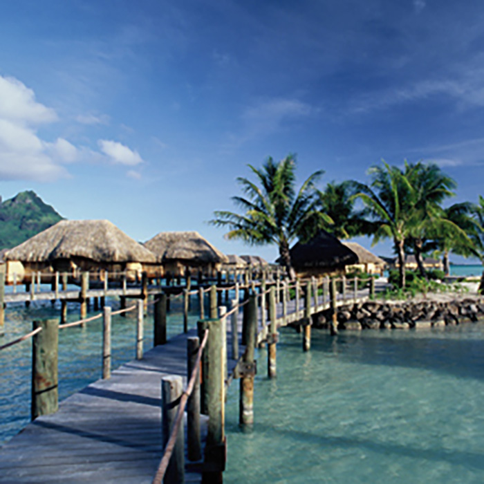 Tahiti, Moorea, Bora Bora at Luxurious Intercontinental Hotels