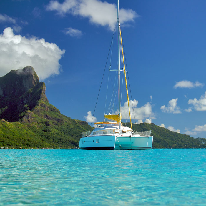 Private Catamaran, Moorea and Bora Bora Combo  – 11 nights
