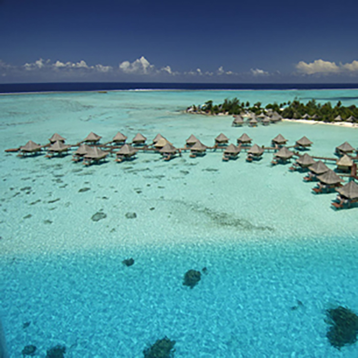8 Nights at Intercontinentals Tahiti and Overwater in Bora Bora w/Meals