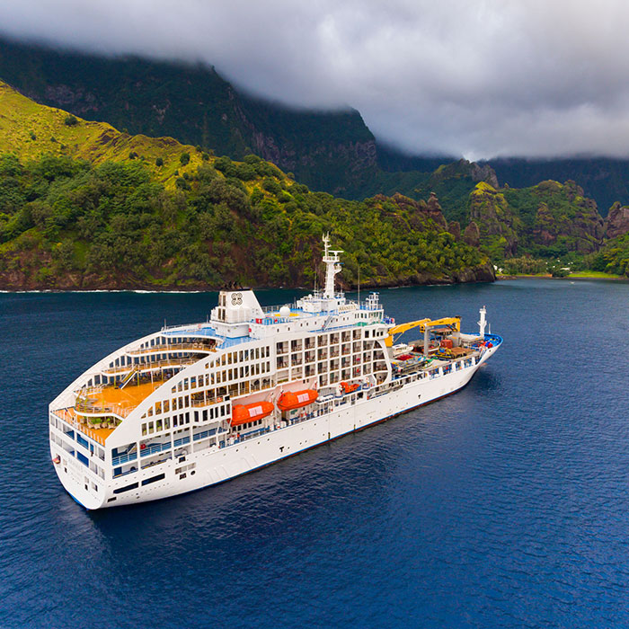 Marquesas Islands by Sea