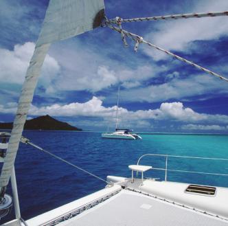 Taha'a to Bora Bora Sailing and Seaplane Adventure