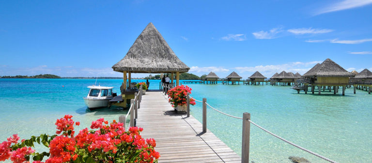 Intercontinental Bora Bora Le Moana Resort overwater bungalows