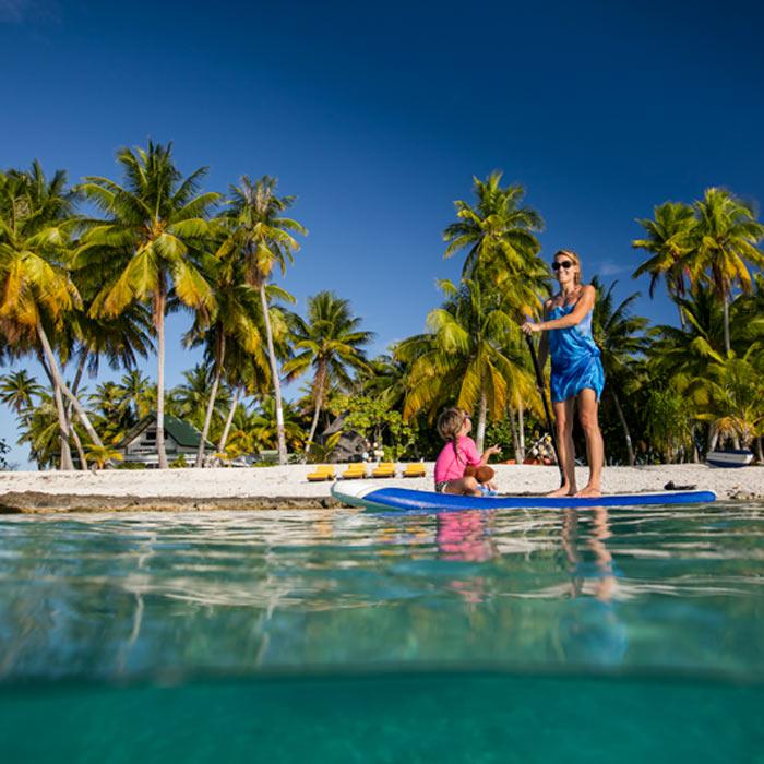 Atoll Discovery, Tikehau Fafarua Lodge