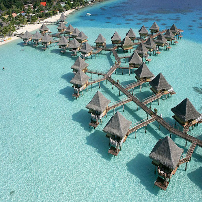 Paradise on Earth: Overwater Bungalow in Bora Bora