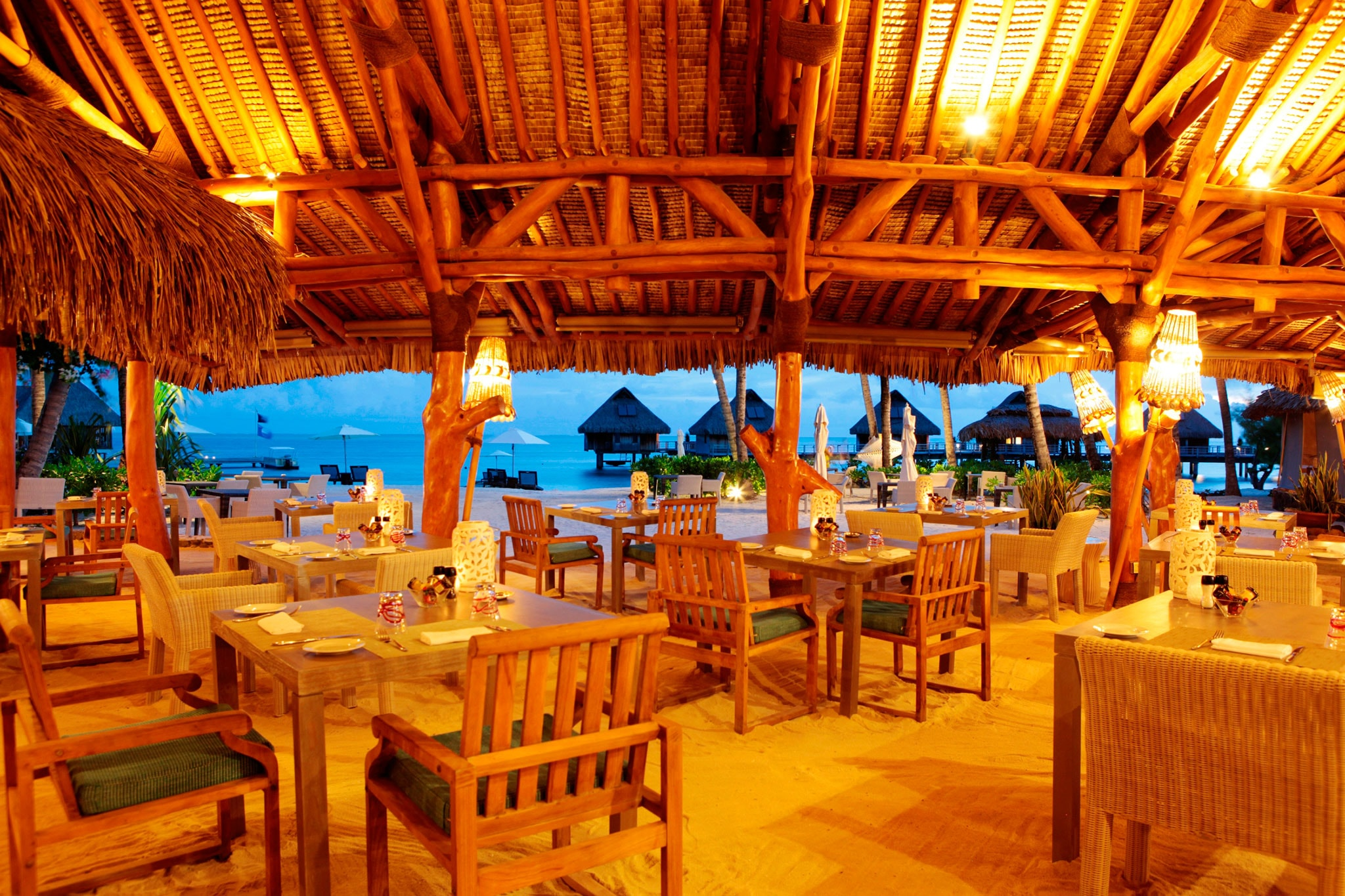 Bora Bora restaurants