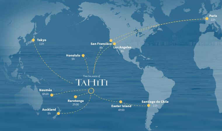 Where Is Tahiti The Tahitian Islands Tahiti Tourisme