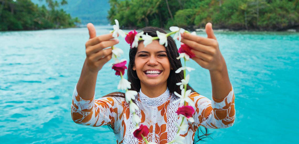 Where is Tahiti and the Tahitian Islands?
