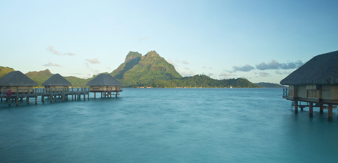 bora bora and overwater bungalows