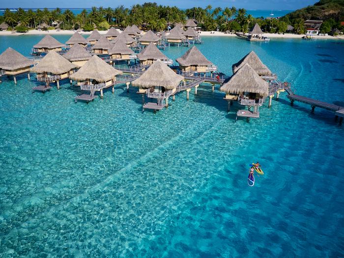 Paradise on Earth: Overwater Bungalow in Bora Bora